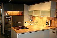 Moderne hoek keuken