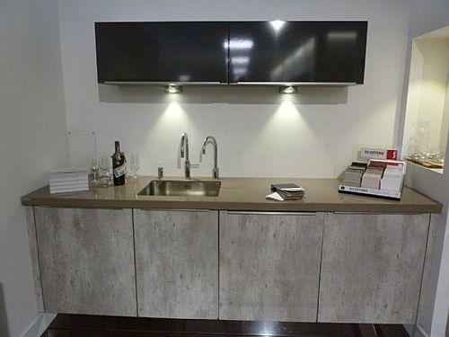 Artego beton natur keuken